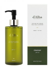 d'Alba Peptide no sebum Mild Gel Cleanser 150ml