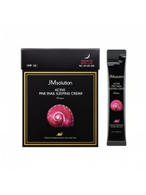 JM Solution Active Pink Snail Sleeping Cream Prime 4ml