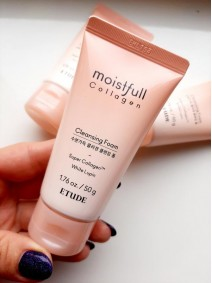 Etude House Moistfull Collagen Cleansing Foam 50ml