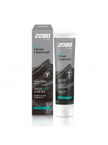 Aekyung 2080 Black Clean Charcoal Toothpaste 120g
